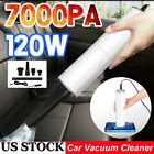 Handheld Car Vacuum Cleaner 12V 120W Auto Mini Portable Wet Dry Duster - US Sale photo