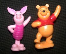 "WINNIE THE POOH & PIGLET PVC Figures 3"" Lot Toys Friends"