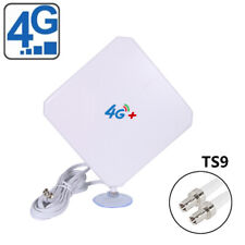 35dBi 4G LTE  Antenna Booster Aerial Two TS-9 Connectofor Huawei