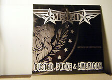 M.O.D. LP Busted broke and american 2017 Megaforce metal new  SEALED!!