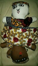 Topsy Turvy poupée primitive Americana style chiffon poupée de chiffon Collection Cadeau
