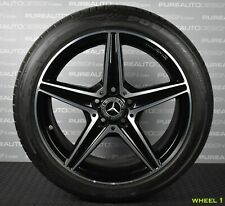 "Genuine Mercedes C Class W205 18"" Alloy Wheels And Bridgestone Tyres W204 5x112"