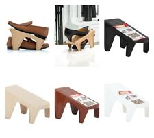 Racks De Plástico Organizador de ranura de Zapato Dunya espacio Saver titular de rampa de zapatos (paquete de 4)