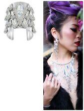 3 set SWAROVSKI Statement Fabulously NECKLACE BANGLE Cuff EARRINGS Crystal