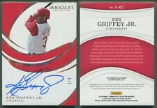 2019 Panini Immaculate - Signatures - GOLD - #S-KG Ken Griffey Jr. (1/5) AUTO