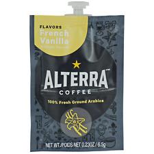 Flavia/Alterra FRENCH VANILLA Coffee A183 Case/Box 100 Packs/Pods MEDIUM ROAST