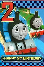 Thomas the Tank Engine Age 2 Birthday Card  NEW
