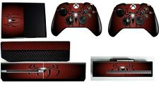 SPIDERMAN XBOX ONE *TEXTURED VINYL ! * PROTECTIVE SKIN DECAL WRAP STICKERS