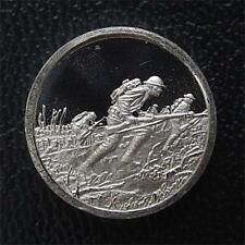 Franklin Mint Mini-Ingot: 1918 American Expedition​ary Forces In Europe: WWI