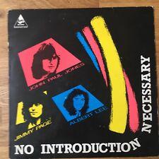 John Paul Jones / Jimmy Page / Albert Lee – No Introduction Necessary vinyl