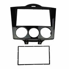 2 Din Radio Fascia for Mazda RX-8 RX8 Stereo Panel DVD Dash Trim Kit GPS Frame