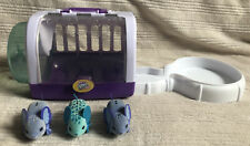 Little Live Pets Mouse Hamster Mice Gerbil Toy House Cage Wheel & 3 Mice Working