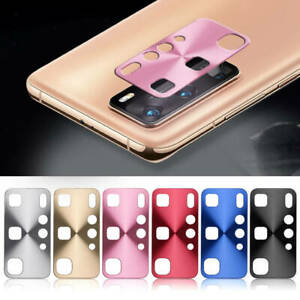 Aluminum Alloy Metal Rear Back Camera Lens Protective Cover For Huawei P40 Pro
