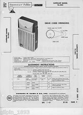 Capehart Model T6-202 AM Transistor Radio - Photofact