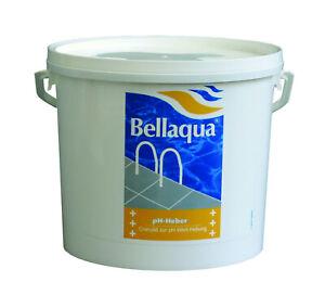 BAYROL BELLAQUA pH-Heber Granulat 5 kg pH Wert Anhebung ph plus + POOLPFLEGE
