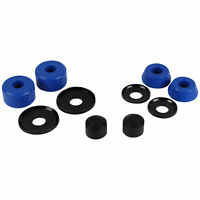 Skateboard Truck Rebuild Kit SOFT 88A Bushings Washers Pivot Cups For 2 Trucks