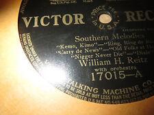 78RPM Victor c1911 Black Memorabilia, Southern Melodies, Nigger Never Die V V+