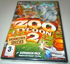 Zoo Tycoon 2  ENDANGERED SPECIES addon PC: game  2005 Original issue SEALED NEW