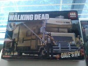 Mcfarlane Toys AMC'S THE  WALKING DEAD DALE'S RV 468 pc. Construction Set Build