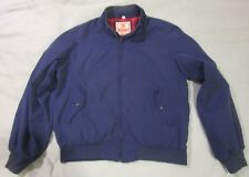 Vintage Baracuta G9 Harrington Jacket barracuda 46L SZ Lrg to XL Blue Plaid line