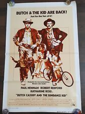 Butch Cassidy And The Sundance Kid 1973 Original Movie Poster