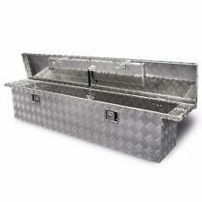 "71"" Aluminum Crossover Crossbed Truck Box Pickup Tool Box Trailer Storage Tool"