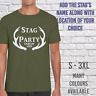 FUNNY MENS STAG DO T-SHIRTS UNISEX PRINTED CUSTOM DESIGN NEW PERSONALISED D-8