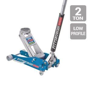 2 Ton Aluminum Racing Floor Jack with Rapid Pump® For Auto Shop Car Truck New