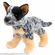 "CLANGER Douglas 7"" plush AUSTRALIAN CATTLE DOG stuffed animal toy brindle"