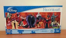 NEW Disney Panoramas  Disney Villains 750 Piece Puzzle