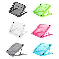 Mesh Ventilated Adjustable Laptop Stand Foldable Portable Tablet Bracket Support