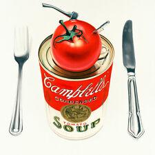 Drew Darcy-Warhol, con el hacha y el cuchillo, en la cocina-Ltd Edition 100