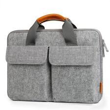 Inateck 12.3-13.3 Inch Felt Laptop Sleeve Case Bag Briefcase - Light Grey