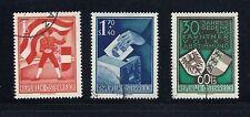 AUSTRIA 1950 PLEBISCITE set VF USED