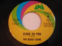 PROMO The Blues Scene Close to You / Love 1967 45rpm VG++