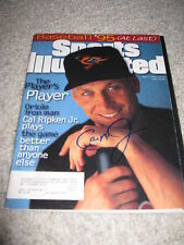 CAL RIPKEN JR SIGNED SPORTS ILLUSTRATED ORIOLES AUTO A