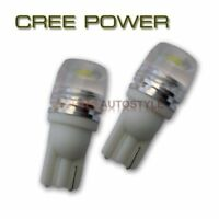 2x 501 W5W T10 HIGH POWER CREE XENON PURE WHITE SIDELIGHT WEDGE LED BULBS