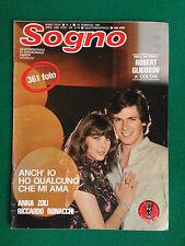 Fotoromanzo Lancio SOGNO 1981 n.3 , ANNA ZOLI con Poster ROBERT GLIGOROV