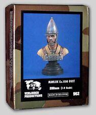 VERLINDEN 200MM 1:9 MAMLUK BUST   BUSTO MAMELUCCO  Ca. 1500    ART 962