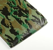 Tarp Camouflage 20' X 20' Medium Duty Canopy Cover Greenhouse Camo RV BOAT Tent
