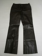 THEORY BROWN LEATHER PANTS SIZE 4 SALE  $99 HOT RARE