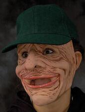 Old Man Dry Sack Funny Scary Zagone Studios Adult Latex Halloween Mask & Cap