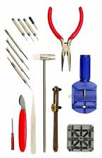 Watch Repair Tool Kit, 16 Pieces for the Do-it-yourself and Collector by Optima