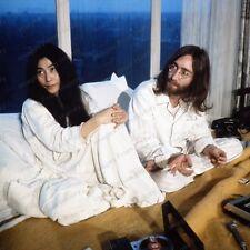 8x10 Print John Lennon Yoko Ono Beatles The Bed #JL09