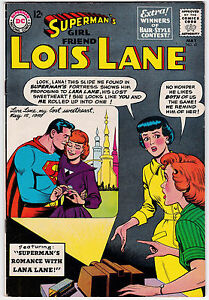 Lois Lane #41 F+ 6.5 Superman's Romance With Lana Lane 1963!