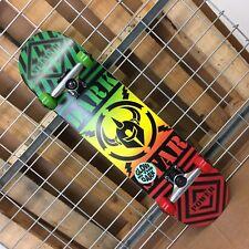 New Darkstar Blunt Fp Rasta/Glow In The Dark Complete Skateboard 7.75in x 31.2in