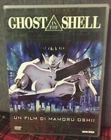 Ghost in the Shell 1995 DVD Un Film di Mamoru Oshii Ex Noleggio Come Foto N