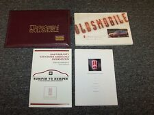 1994 Oldsmobile Cutlass Ciera & Cruiser Sedan Owner's Owner Guide Manual Set