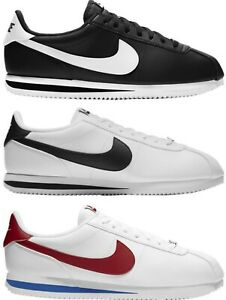 BRAND NEW NIKE CORTEZ Casual Shoe Black White Red Men's US Sizes 7 - 13