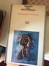 dostoevskij - ricordi dal sottosuolo - VALLECCHI - 1964